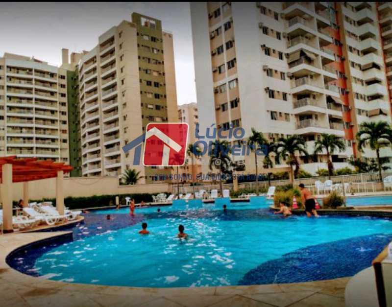 21-Piscina - Apartamento à venda Rua Bernardo Taveira,Vila da Penha, Rio de Janeiro - R$ 430.000 - VPAP21502 - 22