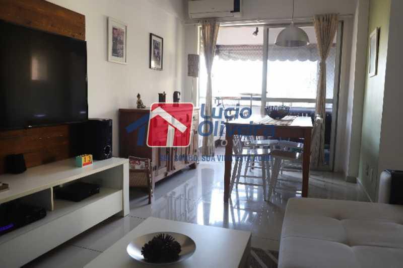 1- Salão 2 ambientes - Apartamento à venda Rua Leopoldino Bastos,Engenho Novo, Rio de Janeiro - R$ 313.950 - VPAP21504 - 1