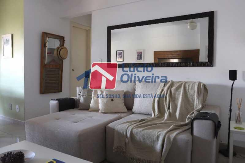 2- Sala estar - Apartamento à venda Rua Leopoldino Bastos,Engenho Novo, Rio de Janeiro - R$ 313.950 - VPAP21504 - 3