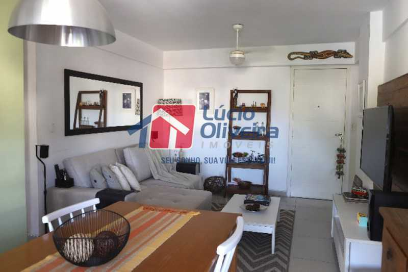3-  Sala 2 ambientes - Apartamento à venda Rua Leopoldino Bastos,Engenho Novo, Rio de Janeiro - R$ 313.950 - VPAP21504 - 4