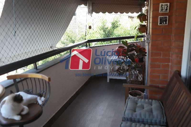 6- Varanda - Apartamento à venda Rua Leopoldino Bastos,Engenho Novo, Rio de Janeiro - R$ 313.950 - VPAP21504 - 7