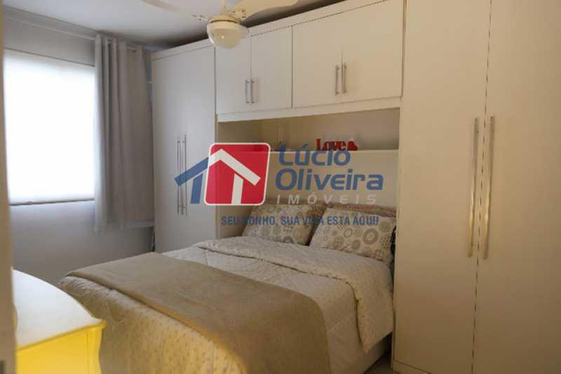 7-  Quarto Casal - Apartamento à venda Rua Leopoldino Bastos,Engenho Novo, Rio de Janeiro - R$ 313.950 - VPAP21504 - 8