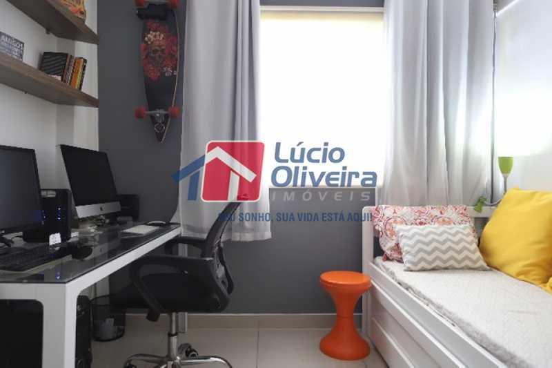 10- Quarto  Solteiro - Apartamento à venda Rua Leopoldino Bastos,Engenho Novo, Rio de Janeiro - R$ 313.950 - VPAP21504 - 11