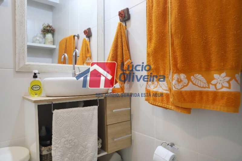 14-Banheiro social armário - Apartamento à venda Rua Leopoldino Bastos,Engenho Novo, Rio de Janeiro - R$ 313.950 - VPAP21504 - 15