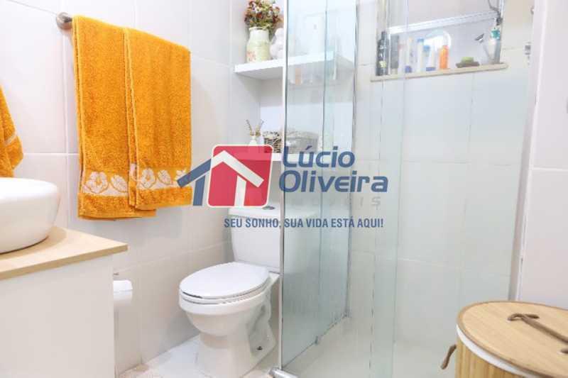 15-Banheiro Social blindex - Apartamento à venda Rua Leopoldino Bastos,Engenho Novo, Rio de Janeiro - R$ 313.950 - VPAP21504 - 16