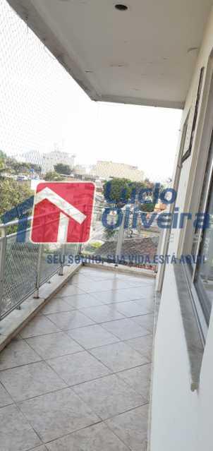 VARANDA. - Apartamento à venda Rua Venâncio Ribeiro,Engenho de Dentro, Rio de Janeiro - R$ 320.000 - VPAP30368 - 30