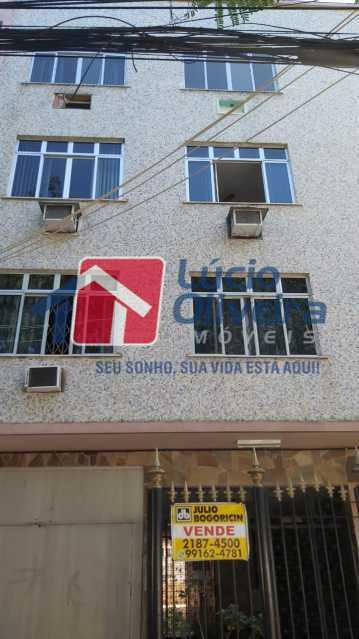 2-fachada - Apartamento à venda Rua Flack,Riachuelo, Rio de Janeiro - R$ 342.000 - VPAP30370 - 3