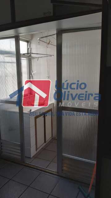 16-area de servico - Apartamento à venda Rua Flack,Riachuelo, Rio de Janeiro - R$ 342.000 - VPAP30370 - 18
