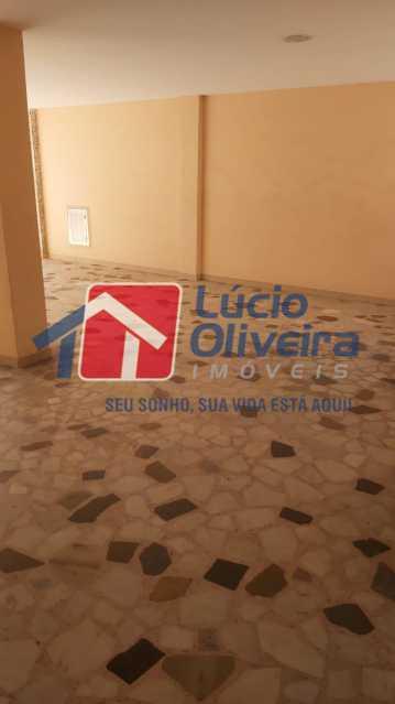 17-garagem - Apartamento à venda Rua Flack,Riachuelo, Rio de Janeiro - R$ 342.000 - VPAP30370 - 19