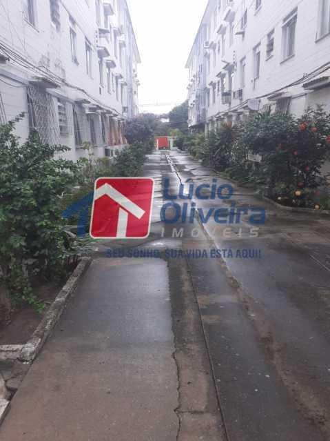 ÁRTE EXTERNA. - Apartamento à venda Estrada da Água Grande,Vista Alegre, Rio de Janeiro - R$ 250.000 - VPAP30371 - 1
