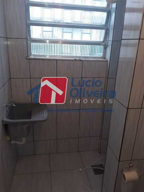 BANHEIRO 2. - Apartamento à venda Estrada da Água Grande,Vista Alegre, Rio de Janeiro - R$ 250.000 - VPAP30371 - 6