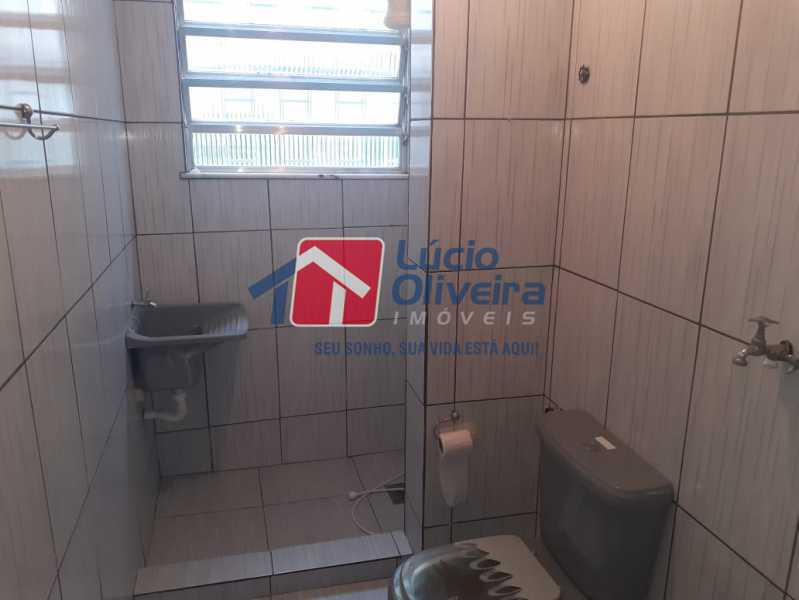 BANHEIRO. - Apartamento à venda Estrada da Água Grande,Vista Alegre, Rio de Janeiro - R$ 250.000 - VPAP30371 - 7