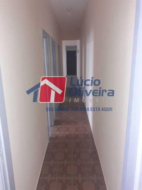 CORREDOR. - Apartamento à venda Estrada da Água Grande,Vista Alegre, Rio de Janeiro - R$ 250.000 - VPAP30371 - 8