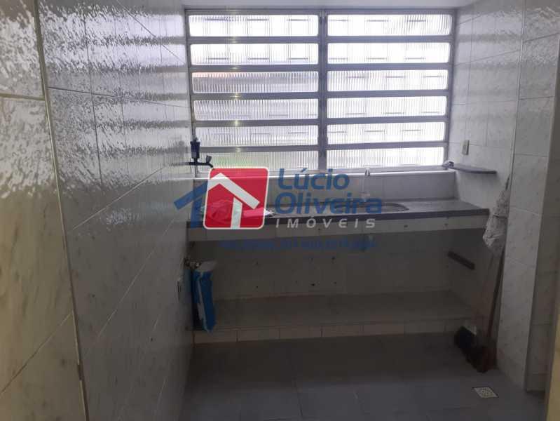COZINHA. - Apartamento à venda Estrada da Água Grande,Vista Alegre, Rio de Janeiro - R$ 250.000 - VPAP30371 - 10