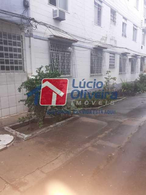 FACHADA. - Apartamento à venda Estrada da Água Grande,Vista Alegre, Rio de Janeiro - R$ 250.000 - VPAP30371 - 4