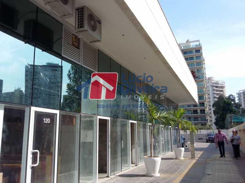 1- Fachada - Sala Comercial 29m² à venda Avenida Embaixador Abelardo Bueno,Barra da Tijuca, Rio de Janeiro - R$ 180.000 - VPSL00027 - 1