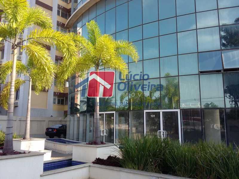 2- Fachada - Sala Comercial 29m² à venda Avenida Embaixador Abelardo Bueno,Barra da Tijuca, Rio de Janeiro - R$ 180.000 - VPSL00027 - 3