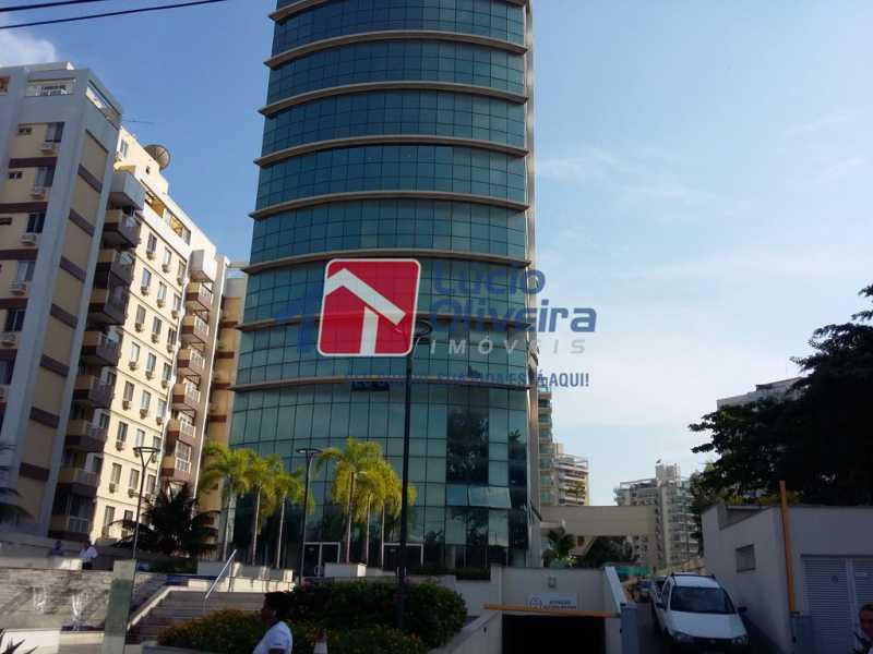 3- Facahada - Sala Comercial 29m² à venda Avenida Embaixador Abelardo Bueno,Barra da Tijuca, Rio de Janeiro - R$ 180.000 - VPSL00027 - 4