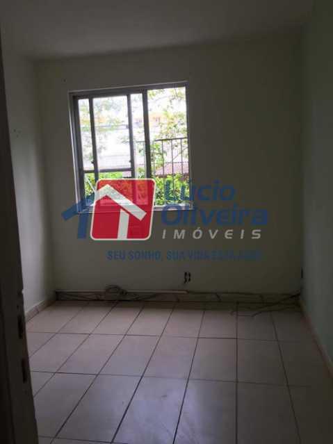 03- Quarto C. - Apartamento à venda Estrada Marechal Miguel Salazar Mendes de Morais,Taquara, Rio de Janeiro - R$ 220.000 - VPAP30372 - 4