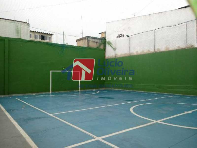13- Quadra - Apartamento à venda Estrada Marechal Miguel Salazar Mendes de Morais,Taquara, Rio de Janeiro - R$ 220.000 - VPAP30372 - 14