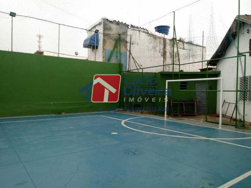 14- Quadra - Apartamento à venda Estrada Marechal Miguel Salazar Mendes de Morais,Taquara, Rio de Janeiro - R$ 220.000 - VPAP30372 - 15