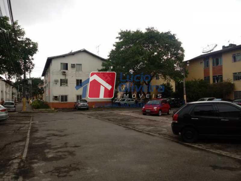 15- Estacionamento - Apartamento à venda Estrada Marechal Miguel Salazar Mendes de Morais,Taquara, Rio de Janeiro - R$ 220.000 - VPAP30372 - 16