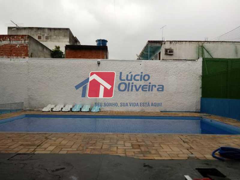18- Piscina - Apartamento à venda Estrada Marechal Miguel Salazar Mendes de Morais,Taquara, Rio de Janeiro - R$ 220.000 - VPAP30372 - 19
