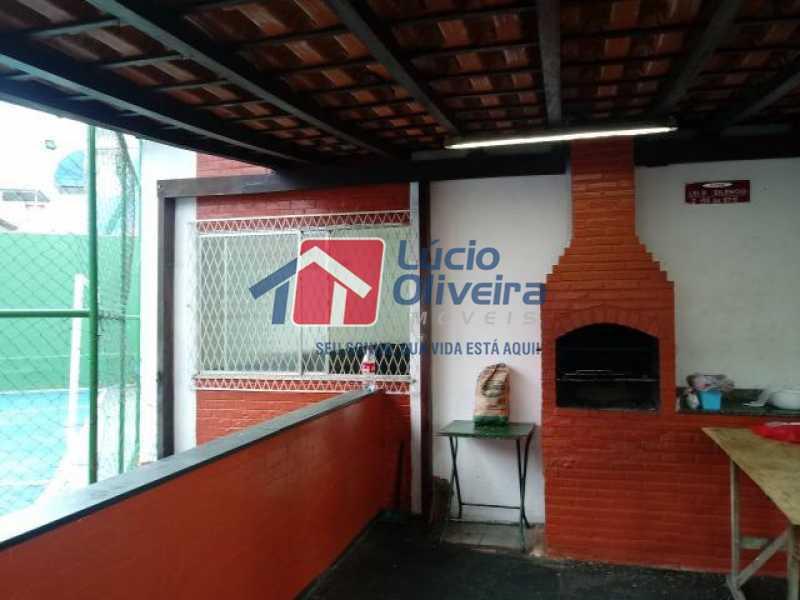 20- Churrasqueira - Apartamento à venda Estrada Marechal Miguel Salazar Mendes de Morais,Taquara, Rio de Janeiro - R$ 220.000 - VPAP30372 - 21