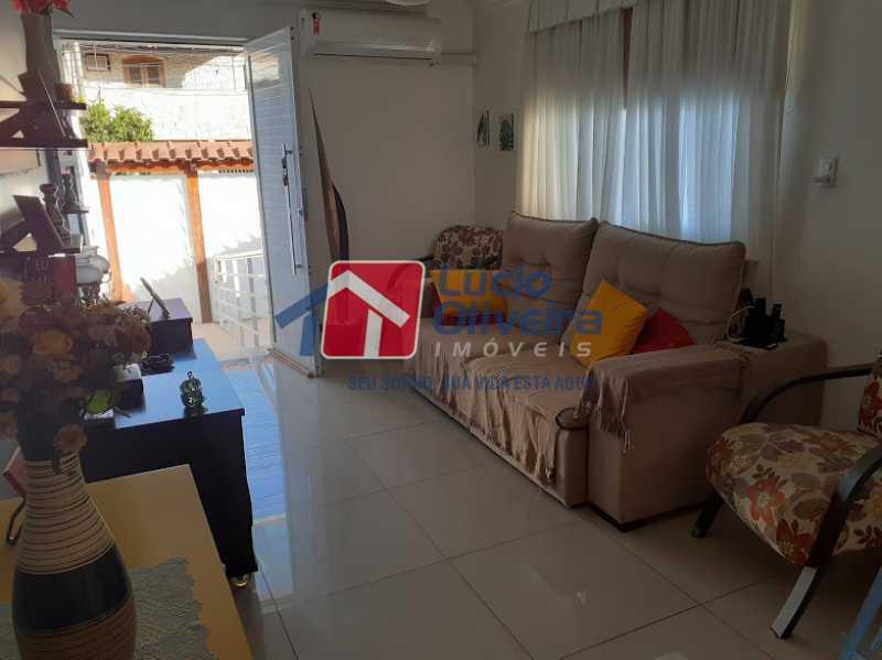01- Sala - Casa à venda Rua Itapera,Vista Alegre, Rio de Janeiro - R$ 770.000 - VPCA30212 - 1
