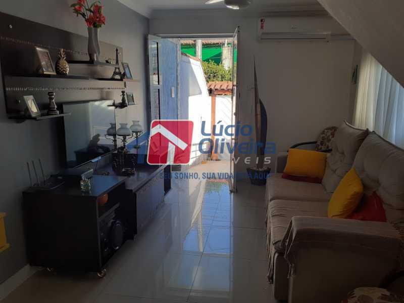 02- Sala - Casa à venda Rua Itapera,Vista Alegre, Rio de Janeiro - R$ 770.000 - VPCA30212 - 3