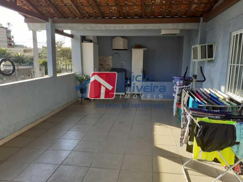 17- Area de Serviço - Casa à venda Rua Itapera,Vista Alegre, Rio de Janeiro - R$ 770.000 - VPCA30212 - 18