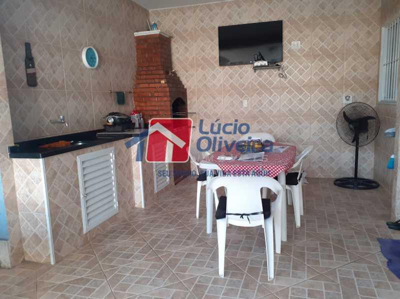 21- Area gourmet - Casa à venda Rua Itapera,Vista Alegre, Rio de Janeiro - R$ 770.000 - VPCA30212 - 22