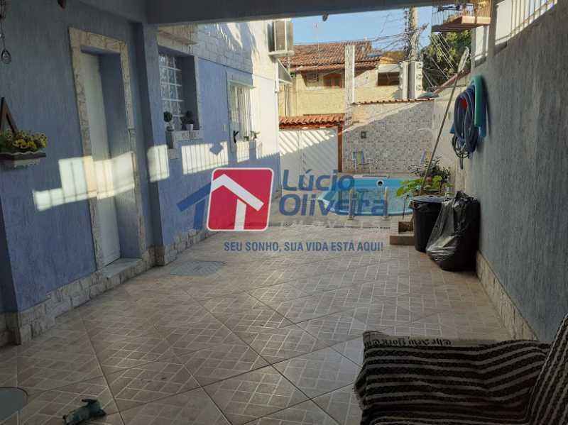 23- Area gourmet - Casa à venda Rua Itapera,Vista Alegre, Rio de Janeiro - R$ 770.000 - VPCA30212 - 24