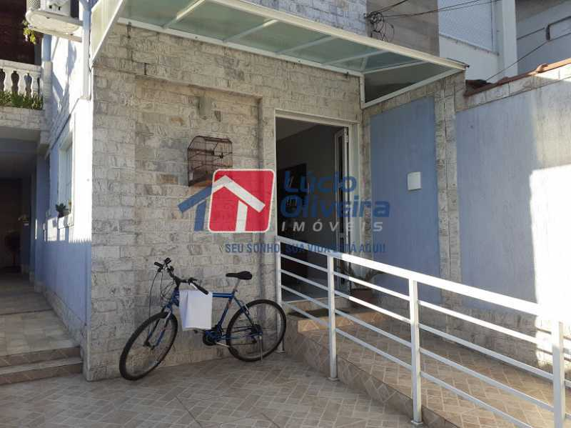 25- Fachada - Casa à venda Rua Itapera,Vista Alegre, Rio de Janeiro - R$ 770.000 - VPCA30212 - 26