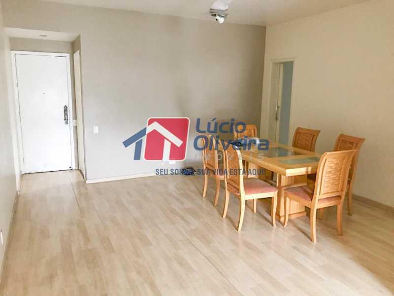 2-sala - Apartamento à venda Rua Ângelo Bittencourt,Vila Isabel, Rio de Janeiro - R$ 430.000 - VPAP21506 - 4