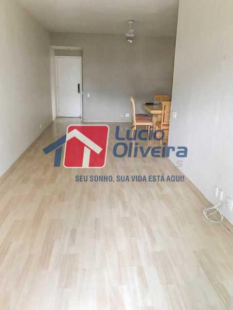 3-sala - Apartamento à venda Rua Ângelo Bittencourt,Vila Isabel, Rio de Janeiro - R$ 430.000 - VPAP21506 - 5