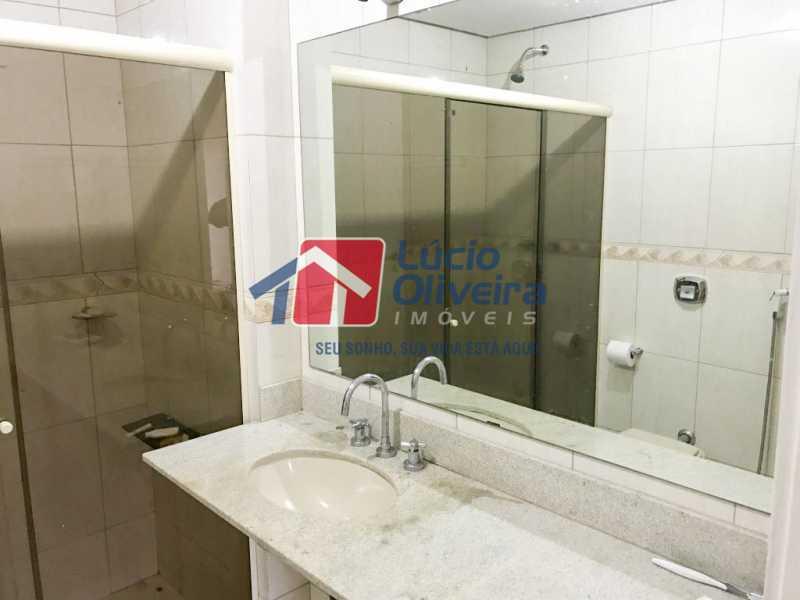 10-banheiro - Apartamento à venda Rua Ângelo Bittencourt,Vila Isabel, Rio de Janeiro - R$ 430.000 - VPAP21506 - 12