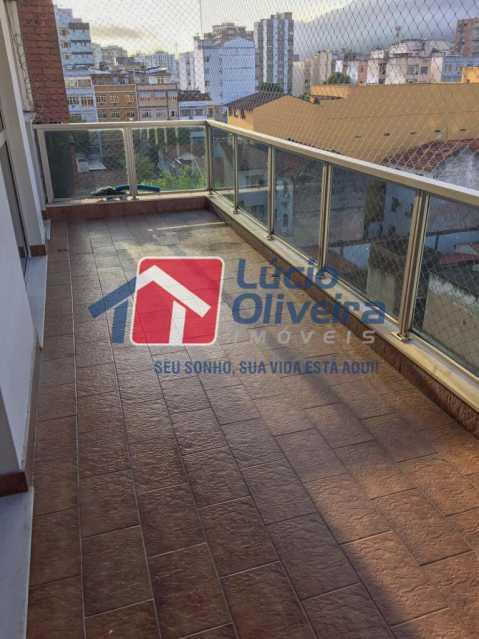 15-varanda - Apartamento à venda Rua Ângelo Bittencourt,Vila Isabel, Rio de Janeiro - R$ 430.000 - VPAP21506 - 17