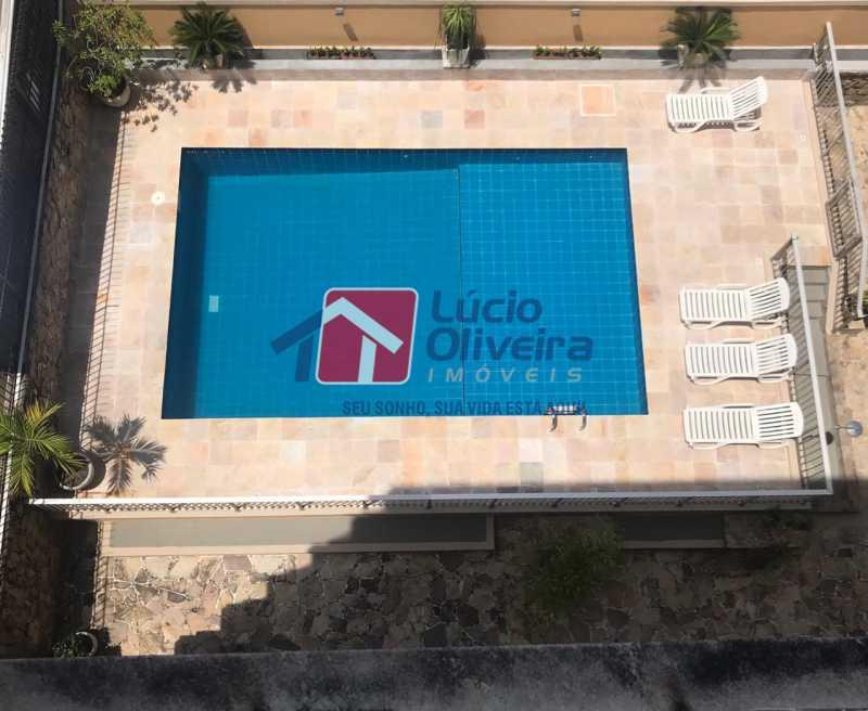 16-piscina - Apartamento à venda Rua Ângelo Bittencourt,Vila Isabel, Rio de Janeiro - R$ 430.000 - VPAP21506 - 18