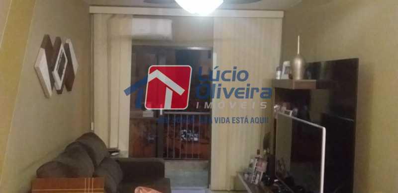 01 - Sala - Apartamento à venda Rua Lupicinio Rodrigues,Irajá, Rio de Janeiro - R$ 350.000 - VPAP21517 - 1