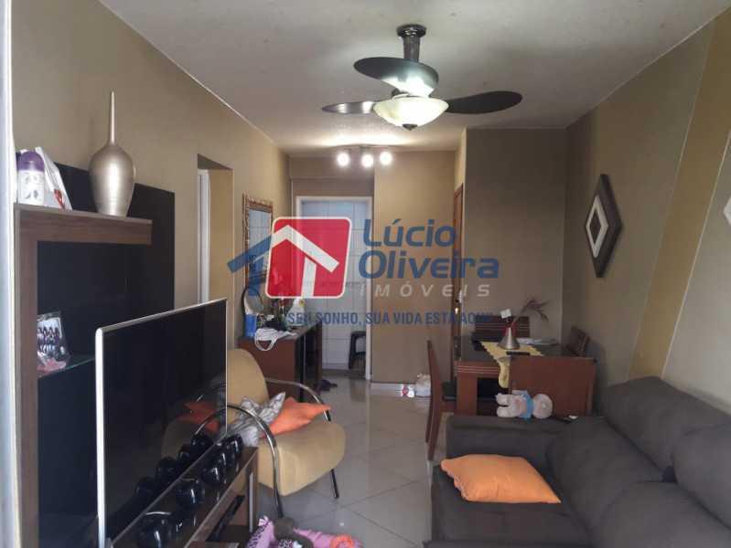 04 - Sala - Apartamento à venda Rua Lupicinio Rodrigues,Irajá, Rio de Janeiro - R$ 350.000 - VPAP21517 - 5