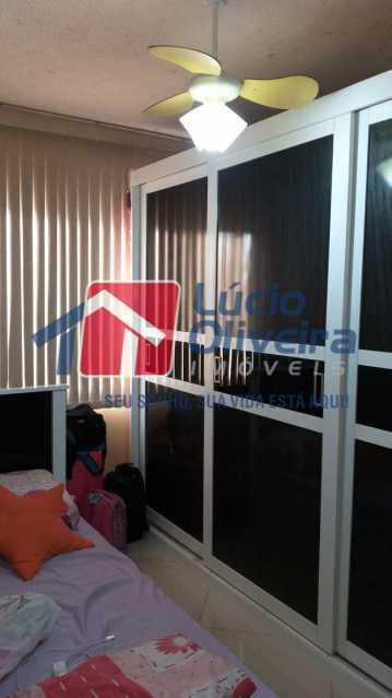 07 - Quarto Casal - Apartamento à venda Rua Lupicinio Rodrigues,Irajá, Rio de Janeiro - R$ 350.000 - VPAP21517 - 8
