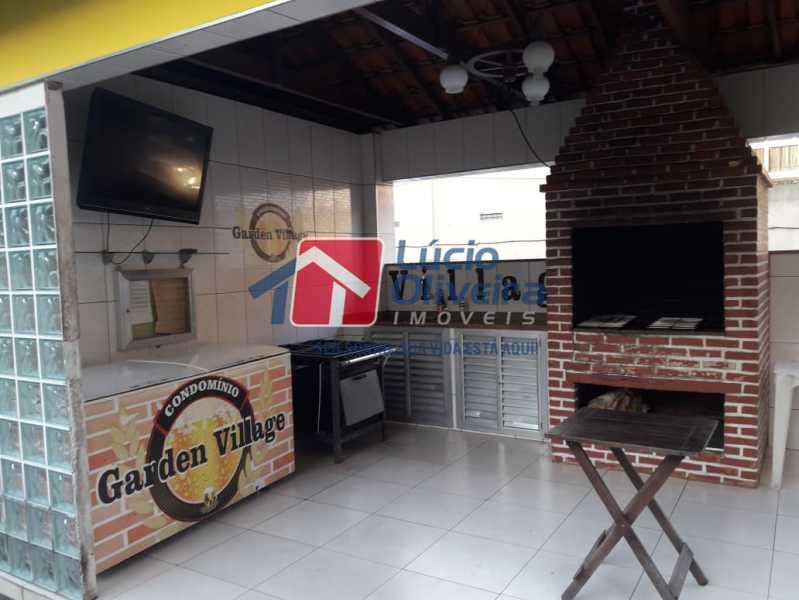 16 - Churrasqueira - Apartamento à venda Rua Lupicinio Rodrigues,Irajá, Rio de Janeiro - R$ 350.000 - VPAP21517 - 17