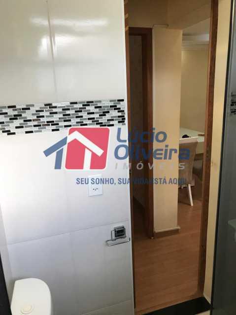 banheiro 2. - Apartamento à venda Rua Debussy,Jardim América, Rio de Janeiro - R$ 175.000 - VPAP21520 - 5