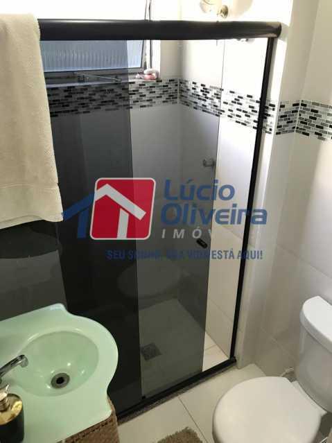 banheiro 4. - Apartamento à venda Rua Debussy,Jardim América, Rio de Janeiro - R$ 175.000 - VPAP21520 - 6
