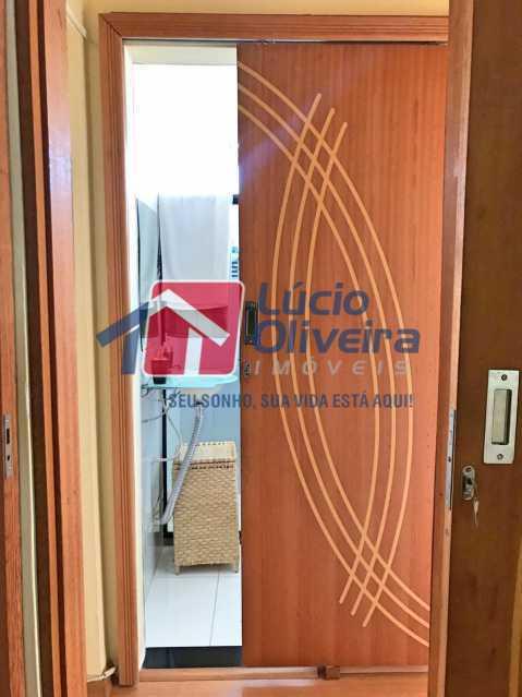 banheiro. - Apartamento à venda Rua Debussy,Jardim América, Rio de Janeiro - R$ 175.000 - VPAP21520 - 8