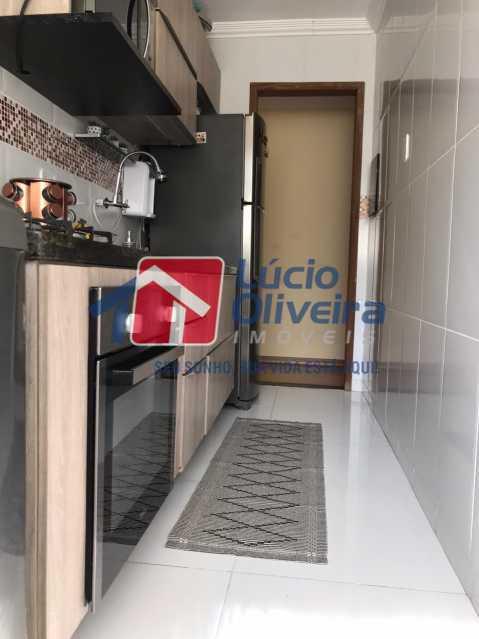 cozinha 2. - Apartamento à venda Rua Debussy,Jardim América, Rio de Janeiro - R$ 175.000 - VPAP21520 - 10
