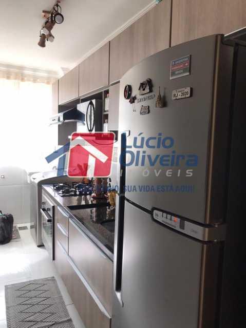 cozinha 3. - Apartamento à venda Rua Debussy,Jardim América, Rio de Janeiro - R$ 175.000 - VPAP21520 - 11