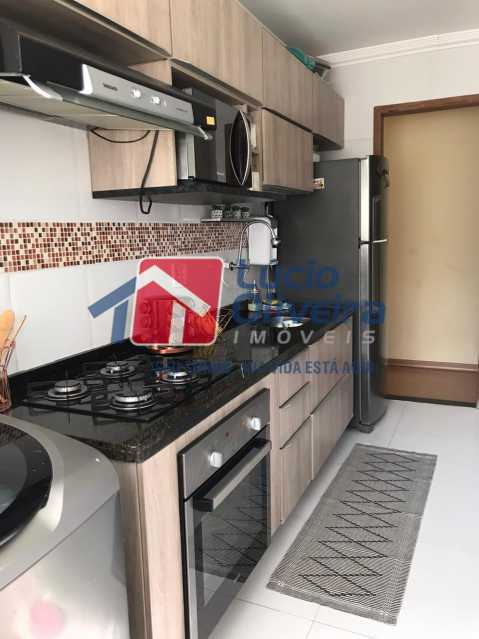 cozinha. - Apartamento à venda Rua Debussy,Jardim América, Rio de Janeiro - R$ 175.000 - VPAP21520 - 12