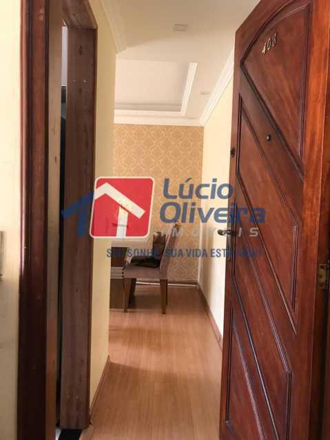 entrada. - Apartamento à venda Rua Debussy,Jardim América, Rio de Janeiro - R$ 175.000 - VPAP21520 - 13